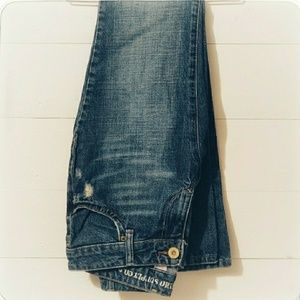 Mossimo size 5 jeans, boot cut, like new!
